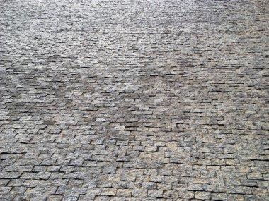 Block pavement background.