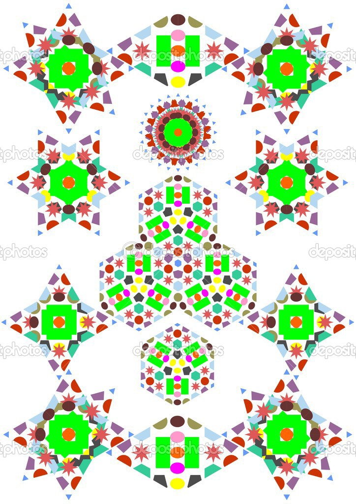 Kaleidoscope Patterns Stock Vector © Prostoi60 60 Gorgeous Kaleidoscope Patterns