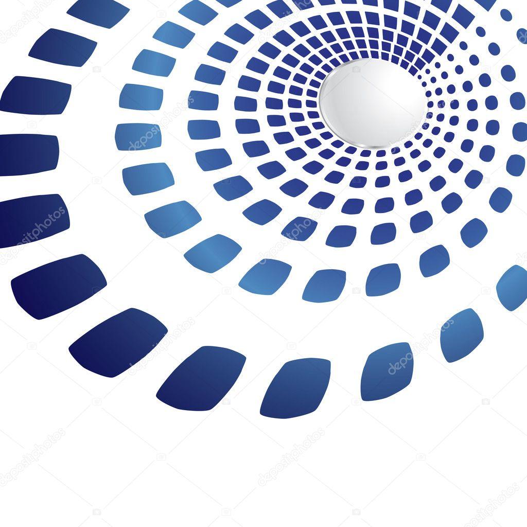 forme g om trique bleu sombre image vectorielle trinity 1248336. Black Bedroom Furniture Sets. Home Design Ideas