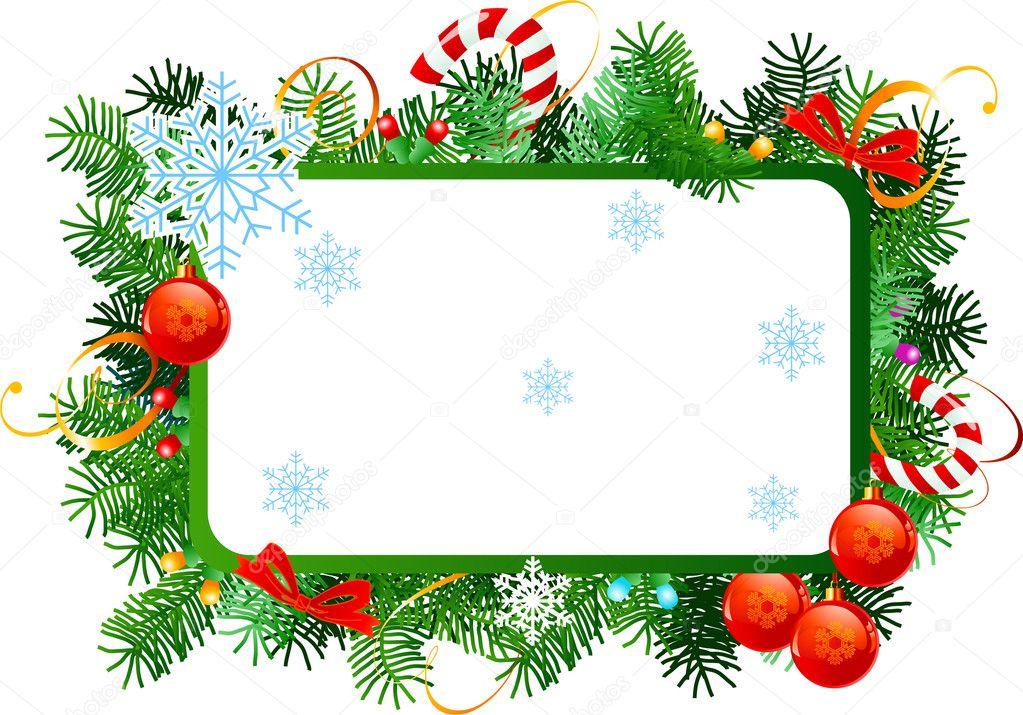 Cornici Natalizie Per Foto.Cornici Natalizie Da Cornice Natale Vettoriali Stock