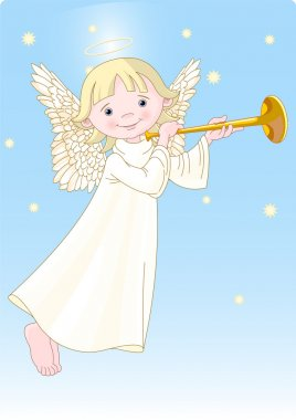 Angel with Horn