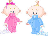 Fotografie Twin Babies