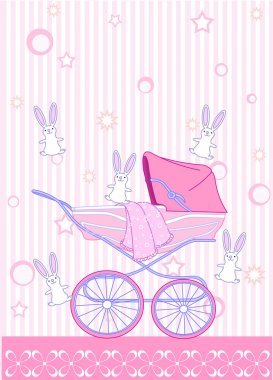 Pink carriage