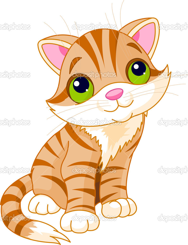 Áˆ Kitten Cartoon Stock Pictures Royalty Free Kitten Animated Download On Depositphotos