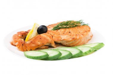 Appetizing Grilled Salmon
