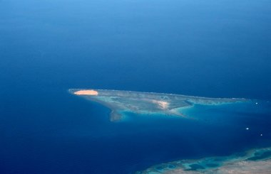 Island in the Red sea