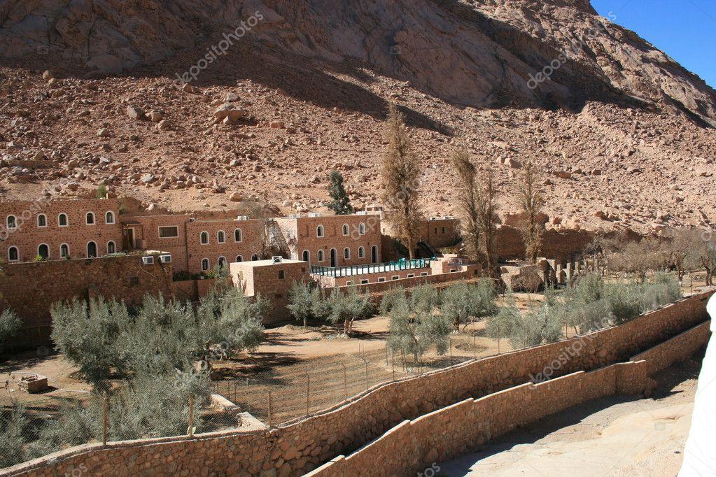 Monastery St. Catherine in Egypt