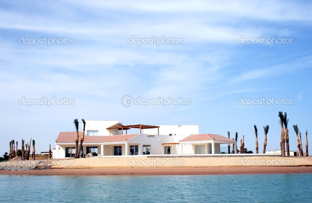 Villa in Greek style in El Gouna