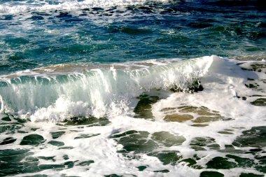 Waves in Mediterranean sea, Israel