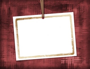 Abstract background with card for greeti