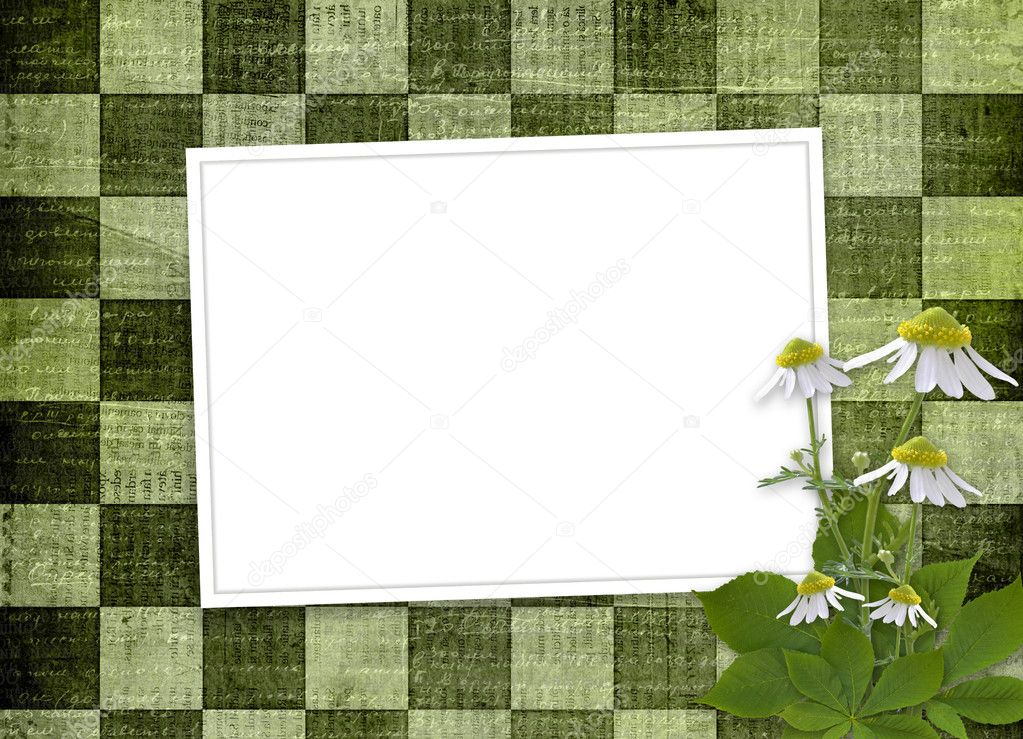 Background with bunch of flower