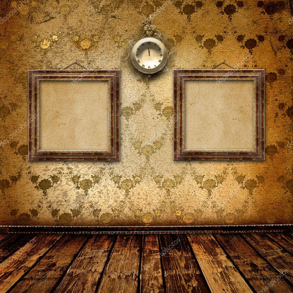 reloj antiguo rostro con encajes y marcos — Foto de stock © Loraliu ...