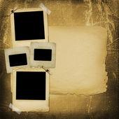 staré papírové snímky grunge