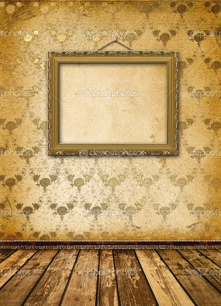 Old gold frames Victorian style