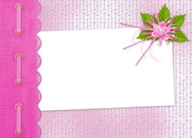 Card for invitation or congratulation
