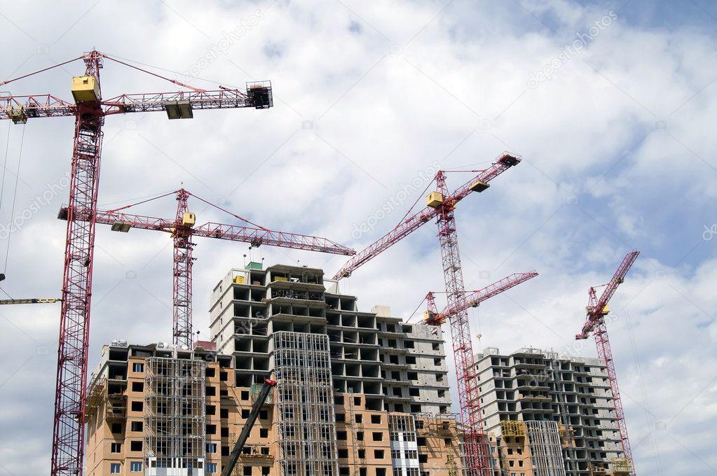 Building crane and building under constr