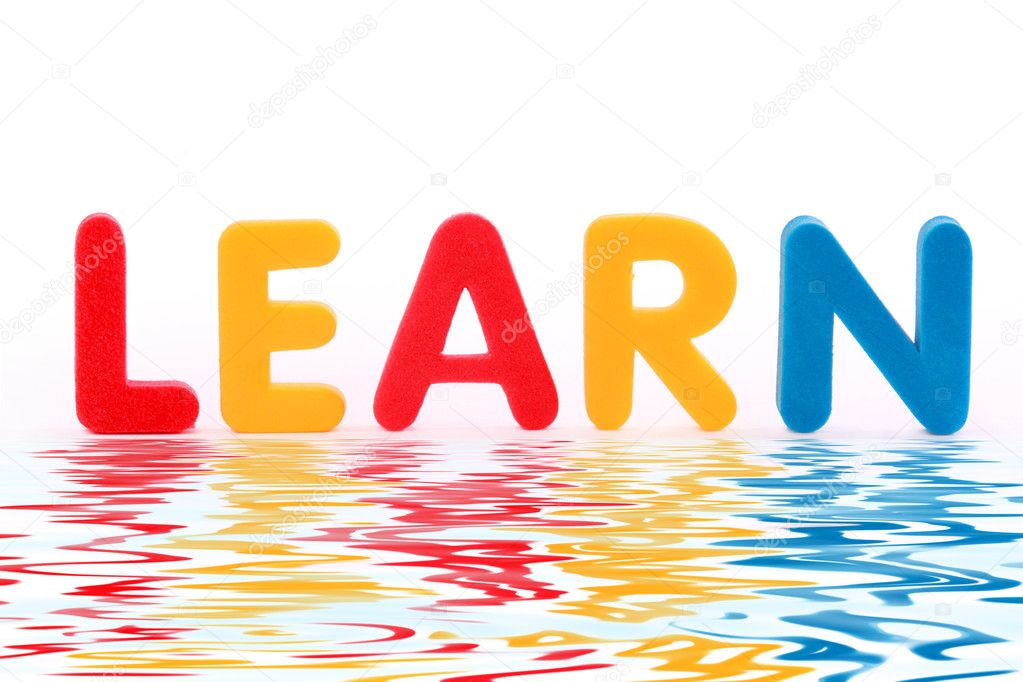 Word learn — Stock Photo © depositedhar #2531935