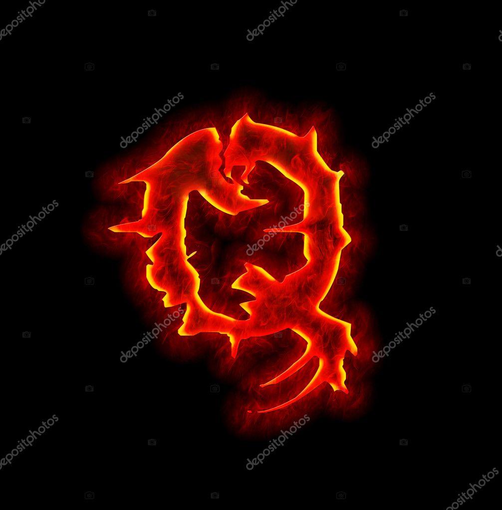 Lucifer Font: Letra De Fuego Gótico