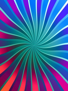 Bright Swirly Background