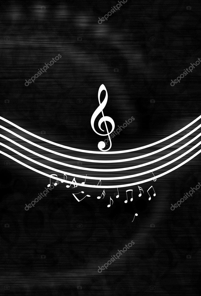 Fotografie Sfondi Musica Bianco E Nero Note Musicali Di Bianco E