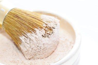 Makeup Powder and Brush