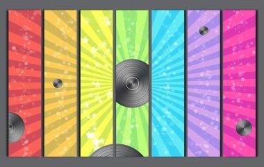 Disco Retro Background