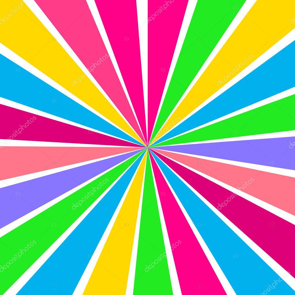Multicolored Rays