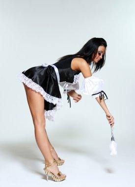 Housework woman