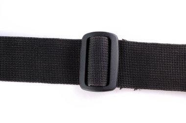 Black tissue strap