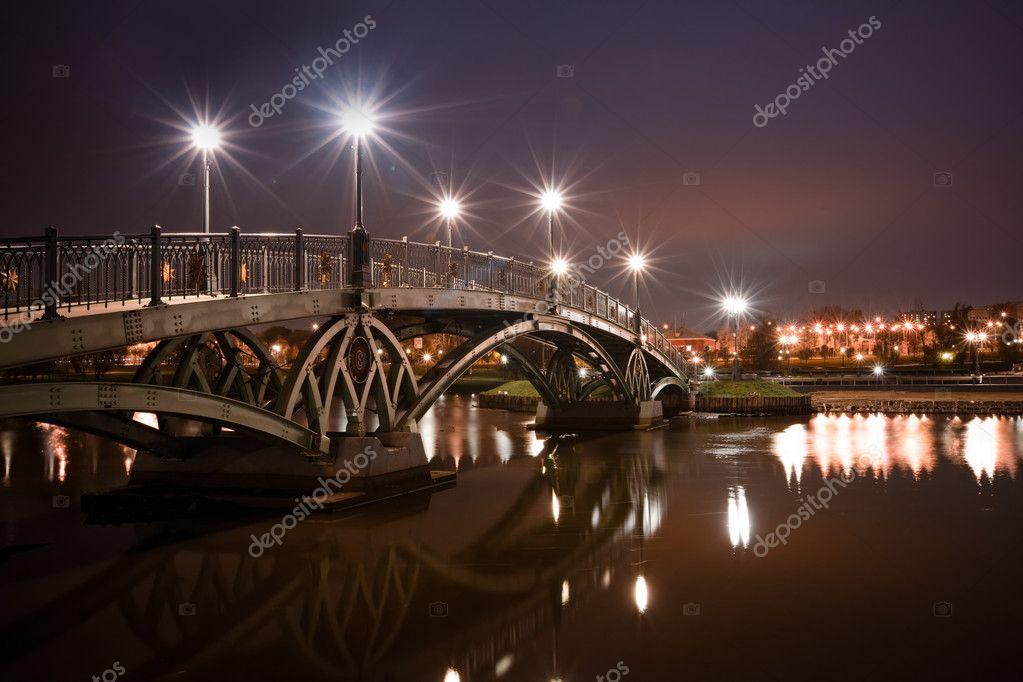 Bridge in Tsaritsino