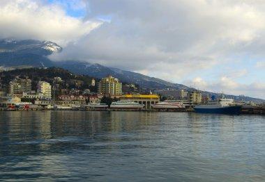 Black sea tourist port, Yalta