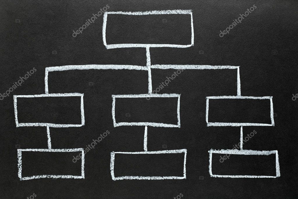 Blank Organization Chart  Stock Photo  Srphotos