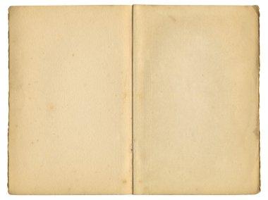 Old vintage book pages.