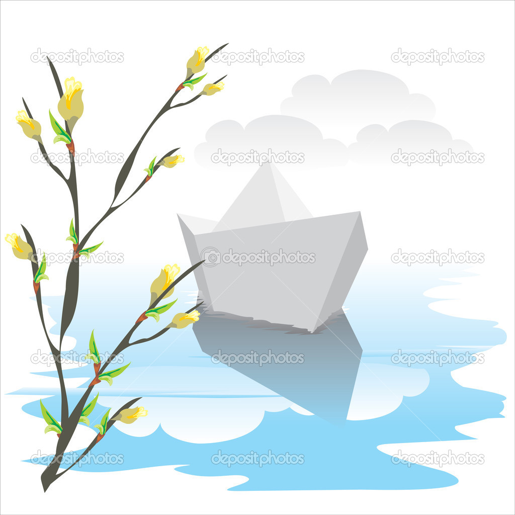 Кораблик ручеек картинка для детей