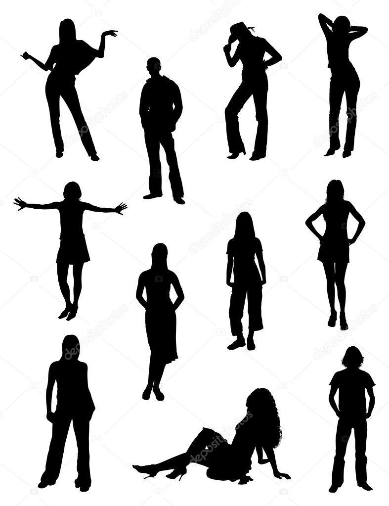 fashion silhouette description - 787×1023