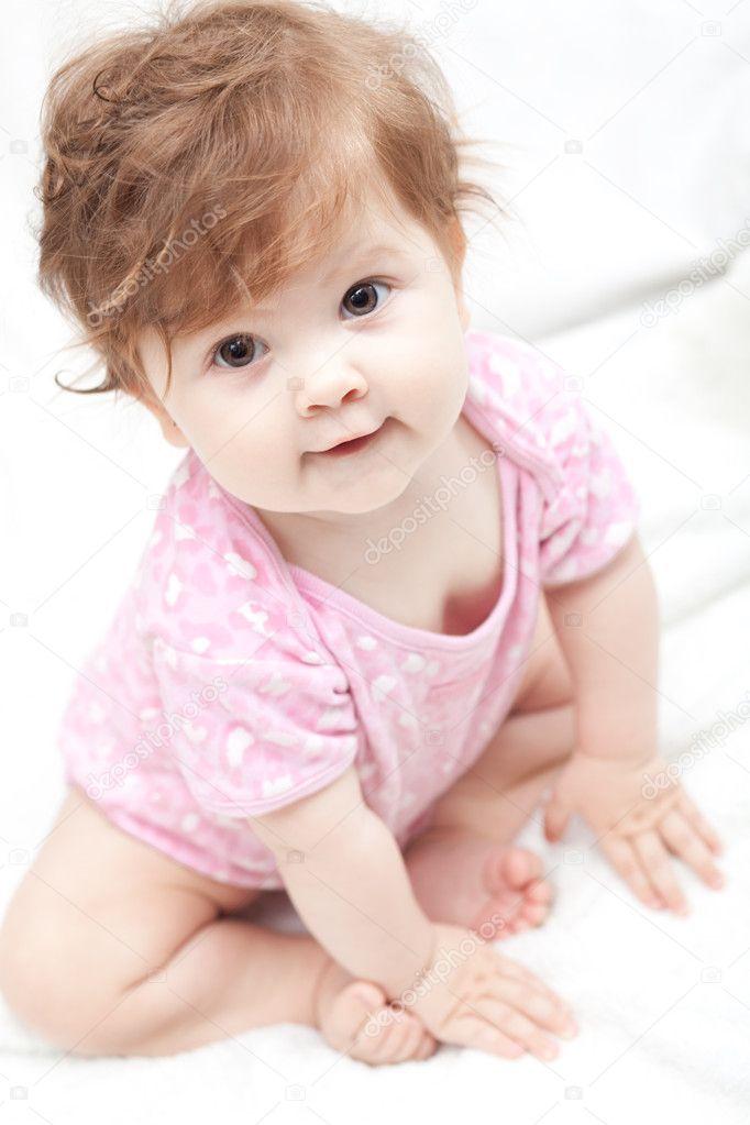 Little girl After bath