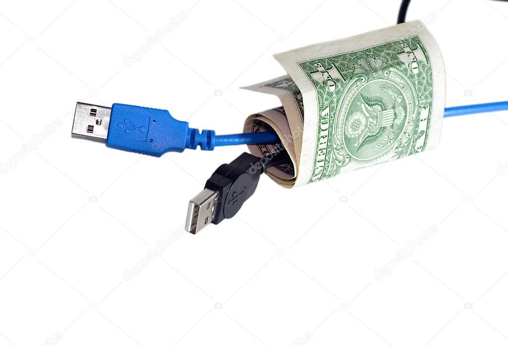 Kabel anschließen — Stockfoto © fotoall #1172247
