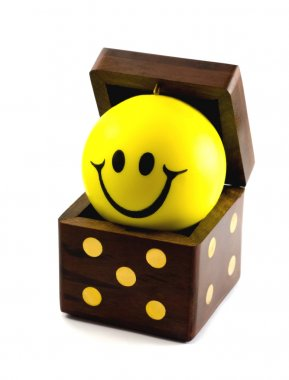 DICE with BALL SMILE