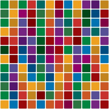 Polychromatic mosaic