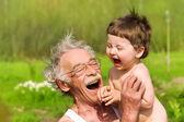 děd a vnuk