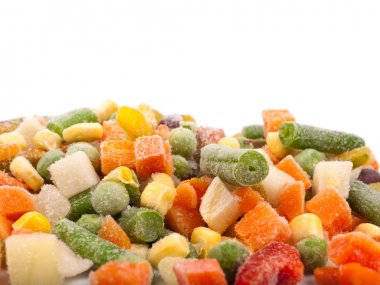 Frozen various vegetables