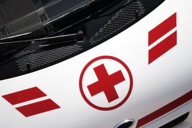 Medical red cross.