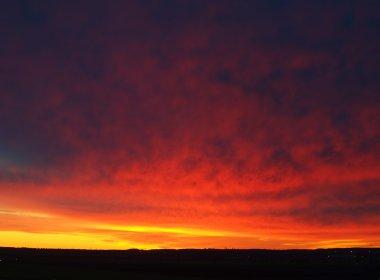 Nothern night dawn