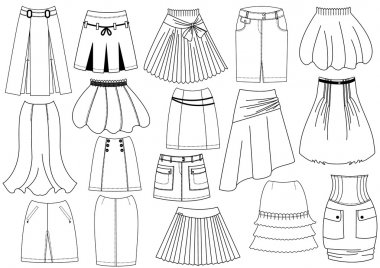 Skirts .Fashion