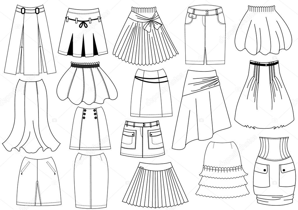 Different Types Of Silhouettes In Fashion Design