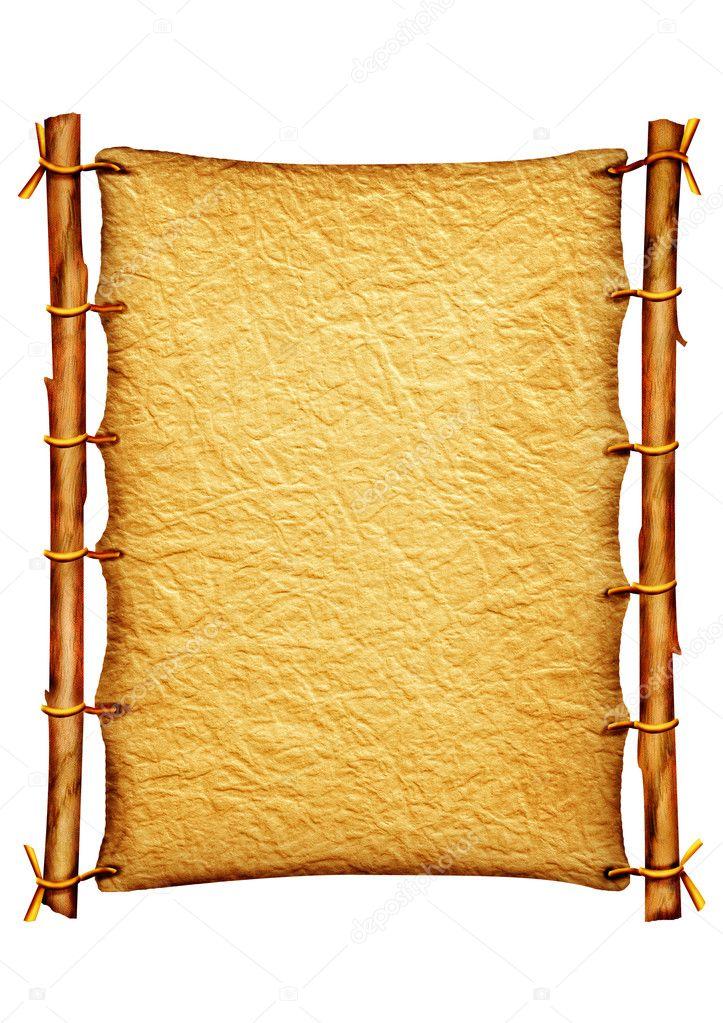 Old paper -scroll — Stock Photo © GeraKTV #1187704