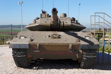 New Israeli Merkava tank in museum