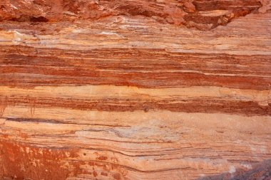 Red striped rock texture