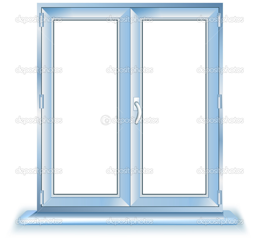 Plastic window stock vector creator76 1447351 for Acrylic windows