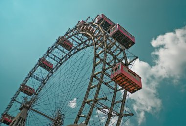 The oldiest Ferris Wheel in Vienna